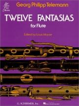 Telemann Twelve Fantasias For Flute