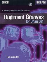 Considine Rick - Rudiment Grooves For Drum Set - Drums