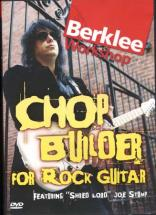Dvd - Stump Joe - Chop Builder For Rock Guitar