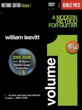 Leavitt William - A Modern Method For Guitar Volume 1 [with Dvd] - Guitar