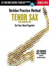 Berklee Practice Method Get Your Band Together Tenor And Soprano Sax - Tenor Saxophone