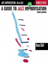 A Guide To Jazz Improvisation Bass Clef Bc Inst + Cd - Bass Clef Instruments