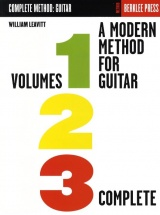 William Leavitt - A Modern Method For Guitar - Volumes 1, 2, 3 Complete - Guitar