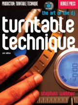 Turntable Technique The Art Of The Dj Decks Book/vnyl - Turntables
