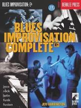 Blues Improvisation Complete E Flat Eflt Inst + Cd - E Flat Instruments