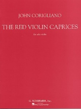 John Corigliano - The Red Violin Caprices For Solo - Violin