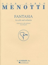 Menotti - Fantasia For Cello And Orchestra - Cello