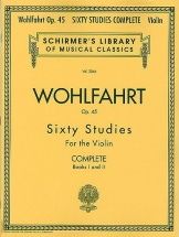 Franz Wohlfahrt 60 Studies Op.45 Complete Edition - Violin