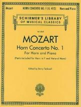 Mozart - Horn Concerto No.1 Hn - Horn Concerto Number 1 - Horn