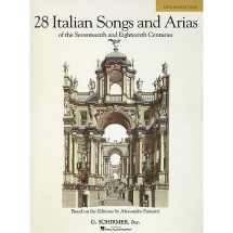 28 Italian Songs And Arias - Voice And Piano