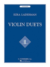 Ezra Laderman Violin Duets - Violin