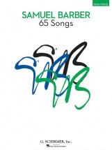 Samuel Barber -  65 Songs - Medium / Low Voice