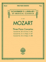 Mozart W A - Three Piano Concertos K466, K467 And K488 - Two Pianos