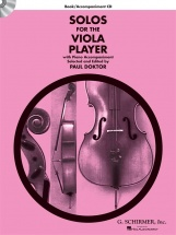 Solos For The Viola Player + Cd - Viola
