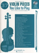37 Violin Pieces You Like To Play + Cd - Violin