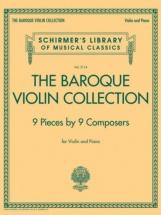 The Baroque Violin Collection - Violon and Piano