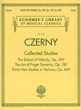 Czerny C. - Collected Studies - Op.299, Op.740, Op.849 - Piano