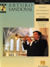 Sandoval A. - Playing Tech & Performance Studies Vol. 3 - Trompette + Cd