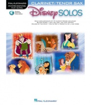 HAL LEONARD DISNEY SOLOS - CLARINET OR TENOR SAX (AUDIO ACCESS INCLUDED)