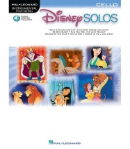 HAL LEONARD DISNEY SOLOS + MP3 - CELLO