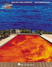 Red Hot Chili Peppers Californication - Band Score