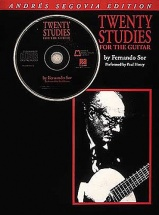 Fernando Sor - Twenty Studies For Guitar + Cd - Guitar