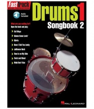 AST TRACK DRUMS ONE SONGBOOK TWO + MP3 - DRUMS