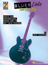 Blues Licks You Can Use + Cd - Guitar Tab