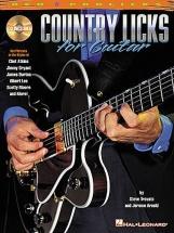 Country Licks + Cd - Guitar Tab