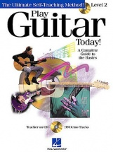 Play Guitar Today Level 2 + Cd - Complete Guide To The Basics - Guitar