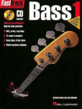 Fast Track Bass Book One B+ Cd - Bass Guitar