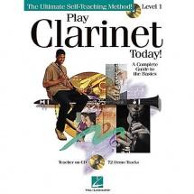 Play Clarinet Today! Level 1 + Cd - Clarinet