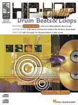 Hip-hop And Rap Drum Beats And Loops Drums + Cd - Drums