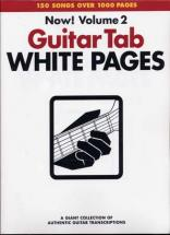 White Pages Guitar Vol.2 - Guitar Tab