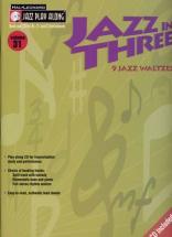 Jazz Play Along Vol.31 - Jazz In Three + Cd - Bb, Eb, C Instruments