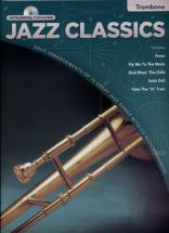 INSTRUMENTAL PLAY ALONG JAZZ CLASSICS TROMBONE + CD