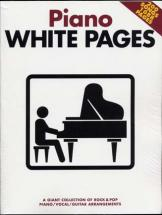 White Pages Piano - Pvg