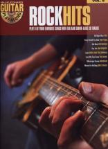 Guitar Play Along Vol.09 Rock Hits Tab Cd