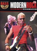 Bass Play Along Vol.4 Modern Rock + Cd - Basse Tab