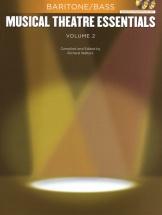 Musical Theatre Essentials - Baritone/bass - Volume 2