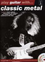Play Guitar With - Classic Metal + Cd - Guitar Tab