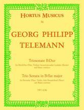 Telemann G.p. - Triosonate B-dur Twv 42:b4