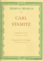 Stamitz C. - Violoncello-konzert G-dur - Violoncelle Et Piano