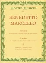Marcello B. - Sonatas For Treble Recorder And Basso Continuo Op.2 Vol.2