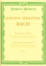 Bach J.s - Trio Sonate En Sol Majeur Bwv 1038 - Flute, Violon, Basse Continue