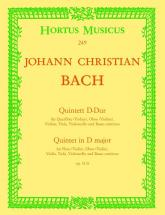 Bach J.c. - Quintett D-dur Op. 11/6 - Conducteur