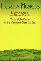 Drei Violinduette Der Wiener Klassik - Deux Violons