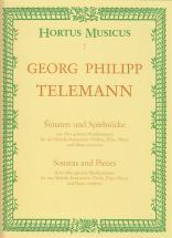 Telemann G.p. - Sonaten Und Spielstucke Aus Der Getreue Musikmeister