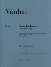 Vanhal J.b. - Kontrabasskonzert - Contrebasse and Piano