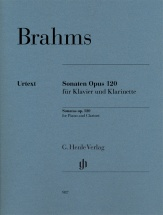 Brahms J. - Klarinettensonaten Op.120 - Clarinette and Piano